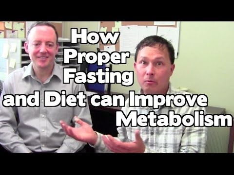 How Fasting & Diet Can Improve not Slow Down Metabolism
