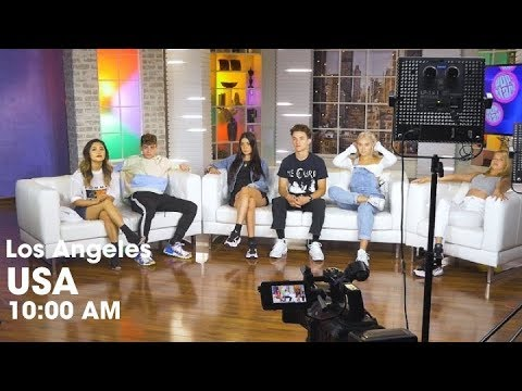 Popstar Interview! - Los Angeles, USA - Now United