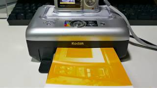 Printing With A Kodak EasyShare Printer Dock 3 And Kodak EasyShare CD43 Camera