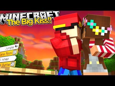 Minecraft Adventure - THE BIG KISS!!!