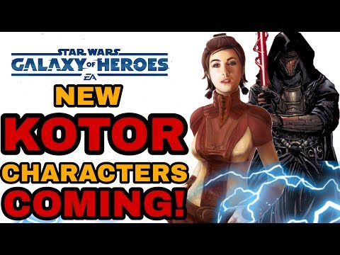 5 KOTOR Characters Coming To Star Wars Galaxy Of Heroes