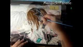 Speed Drawing Zero&Yuki from Vampire Knight