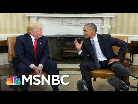 Memo to Trump: 'You Have Always Been Absolutely Terrified Of Your Predecessor' | MSNBC