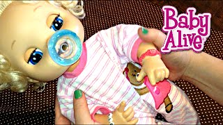 My Baby Alive Doll Aleasha's Night Routine