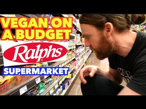 Vegan Shopping at Ralphs Supermarket