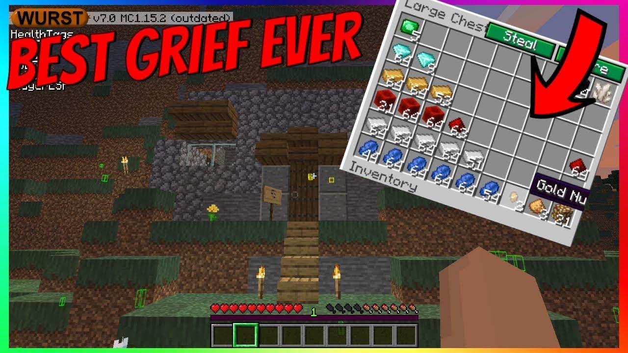 Best Ever Minecraft Server Grief YouTube