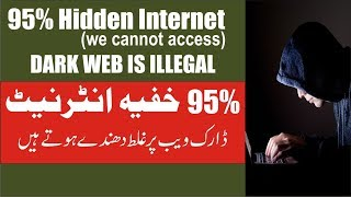 What is the dark and Deep web/ Hidden Internet explained in Urdu/Hindi