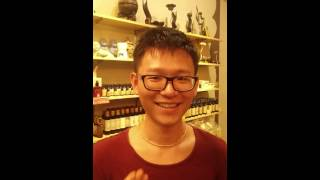 Chinese Customer Sings Indian Song