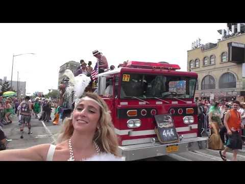 Mermaid Parade~2017~Coney Island~Rockaway Mermaid Brigade Goes Vintage~NYCParadelife
