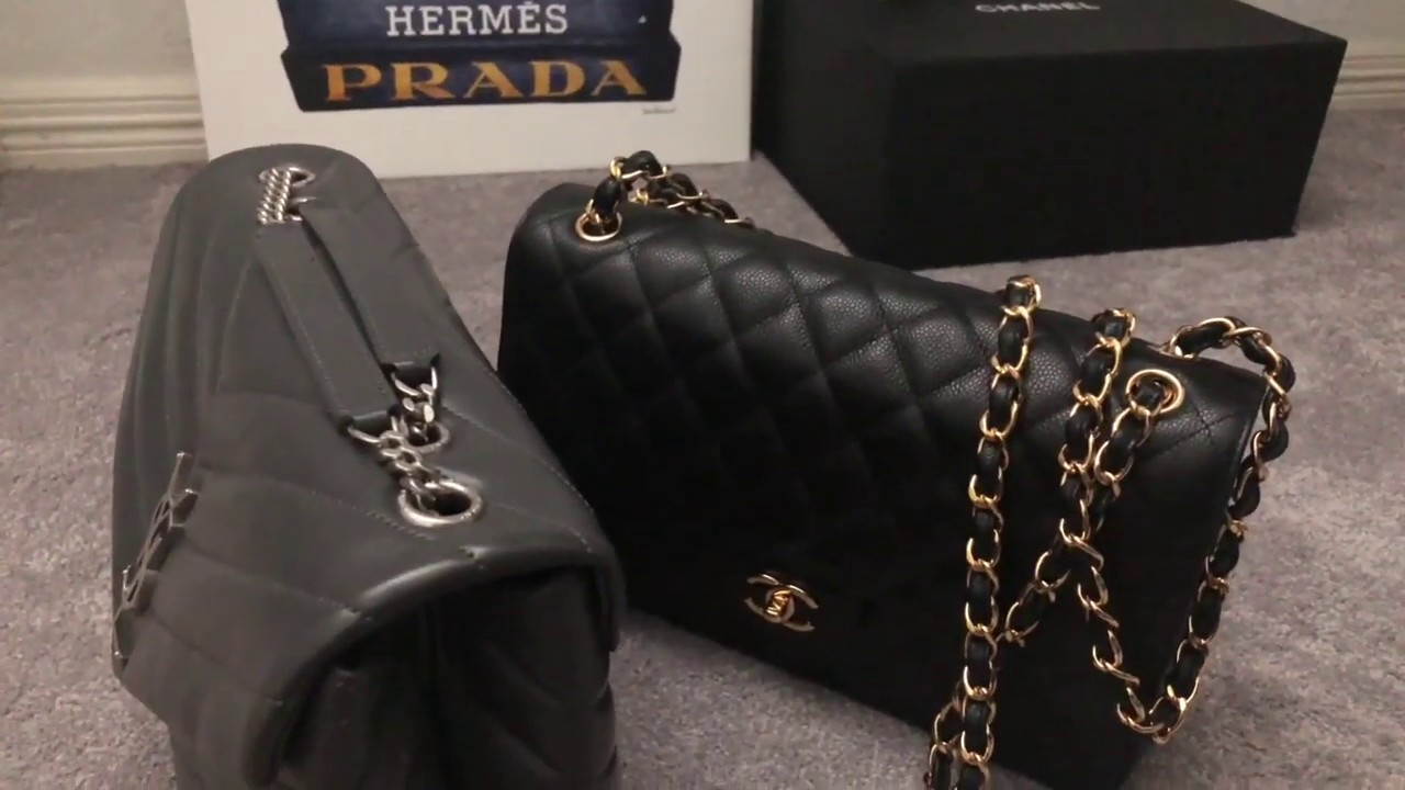 Ysl Loulou Bag Review What Fits Youtube