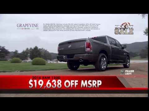 Grapevine Dodge Special // September 2016   Duration: 0:16. Grapevine Dodge  Chrysler Jeep 39 Views
