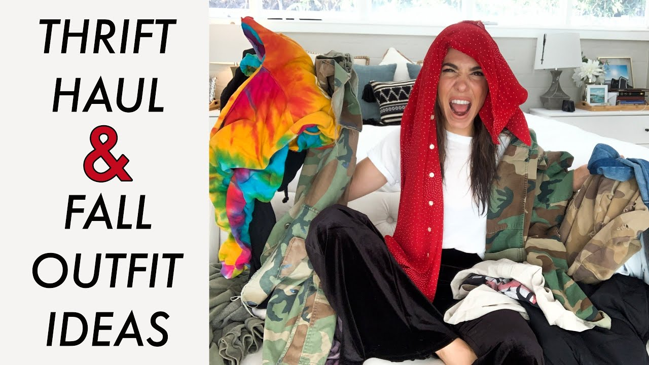 [VIDEO] - THRIFT Haul + Fall OUTFIT IDEAS!! (Vertical Video)- By Orly Shani 1