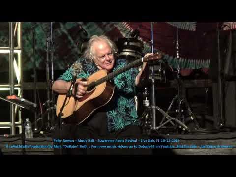 Peter Rowan – Music Hall - Suwannee Roots Revival – Live Oak, Fl  10- 12- 2019