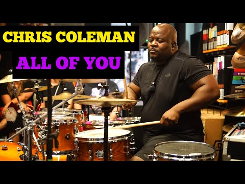 Chris Coleman - All of You - Drum Clinic in Brazil Fortaleza
