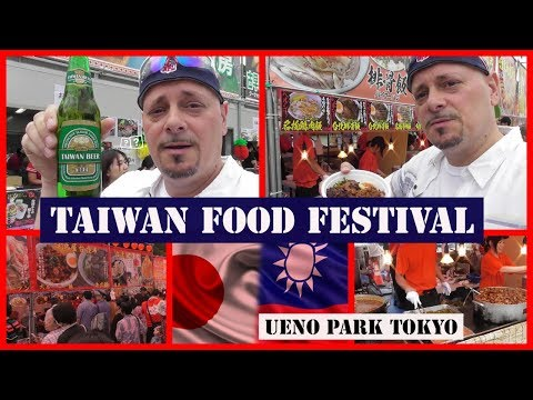 TAIWAN FOOD FESTIVAL at UENO PARK and the UNDERGROUND PASSAGES of UENO