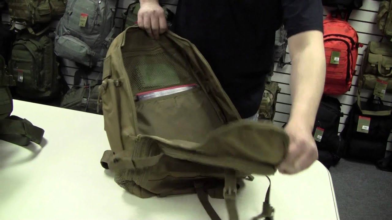 Ambidextrous Teardrop Tactical Sling Pack - YouTube