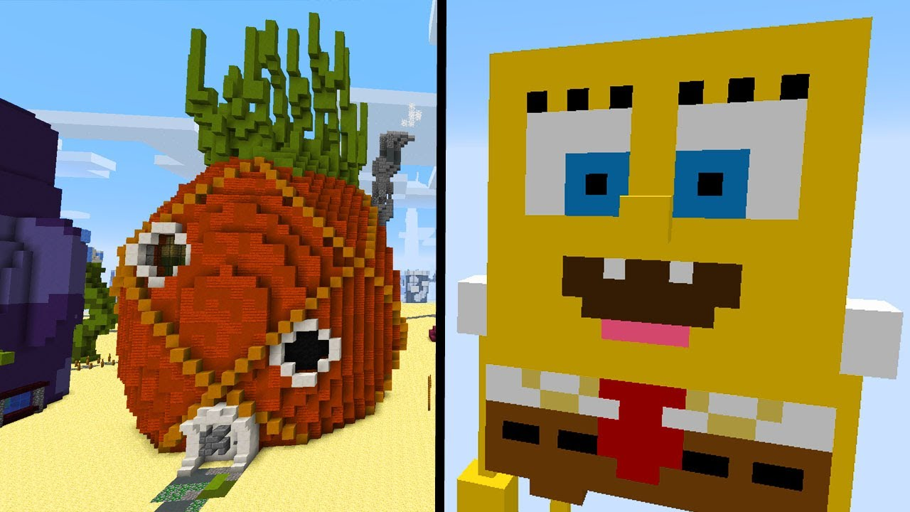 Minecraft Mods  Minecraft Spongebob Mod