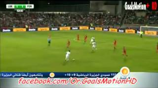 Luxembourg 1 - 2 Portugal :: All Goals