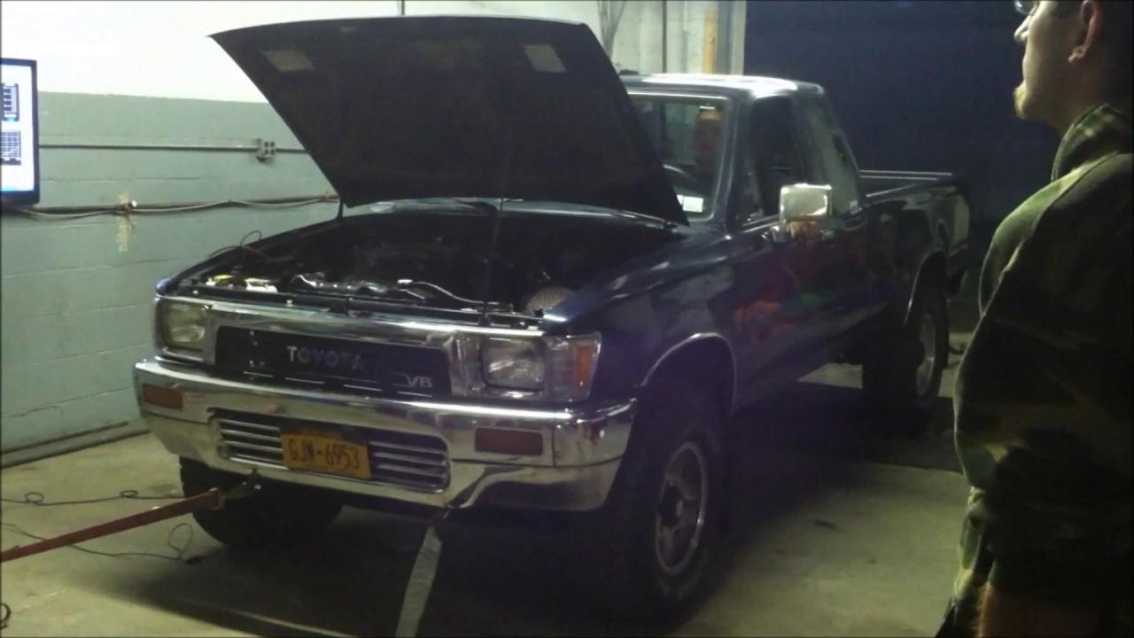 Super Hauler Toyota Pickup 3vze gets dyno Radicalrevs