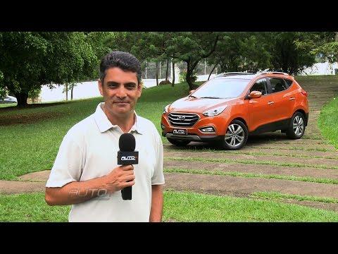 Ben Gomes mostra diferenciais do Hyundai ix35