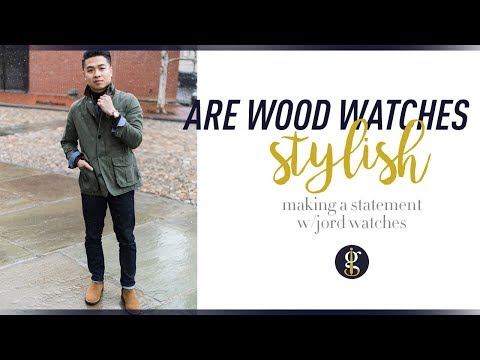 ARE WOOD WATCHES STYLISH? | JORD Watches Review | Dover Series