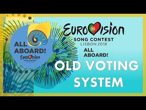 EUROVISION 2018 - OLD  VOTING SYSTEM | Under 2013–2015 System