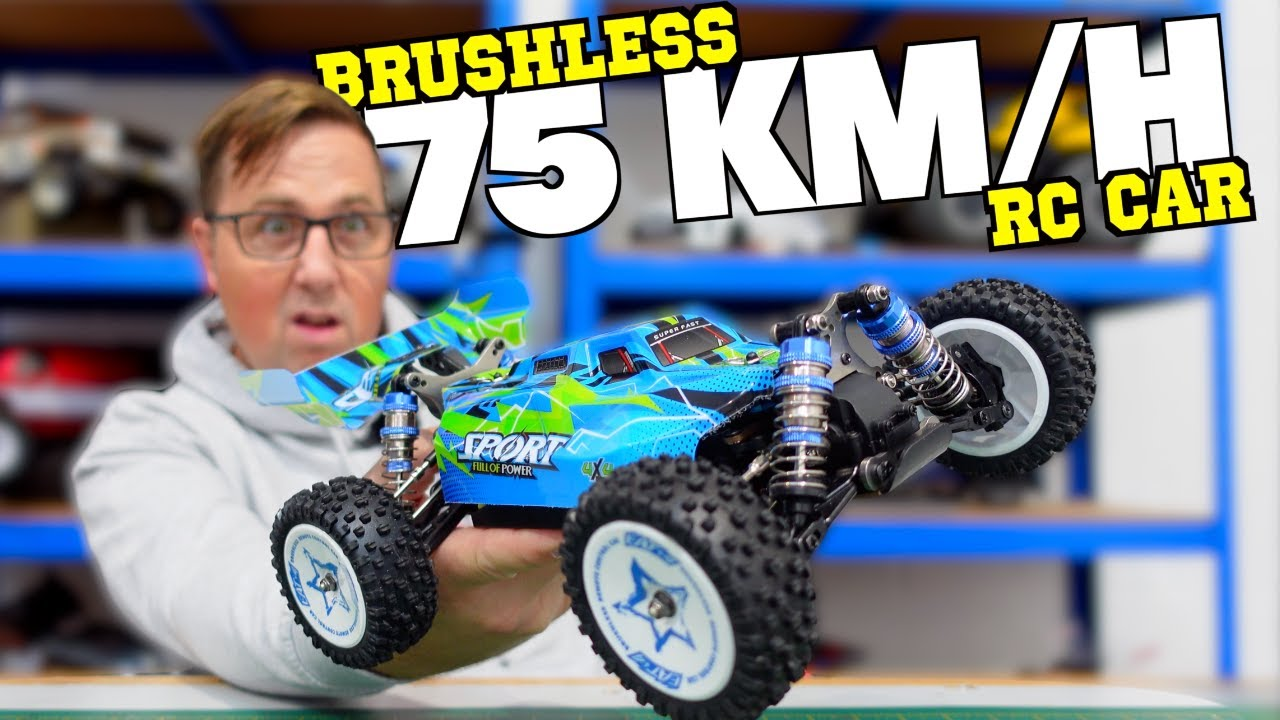 Download This NEW Brushless 1/14 RC Buggy Claims to do 75 km/h! EAT 14