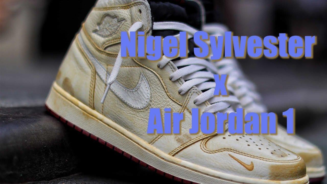 c9f5caa57e6 Nigel Sylvester x Air Jordan 1 - YouTube