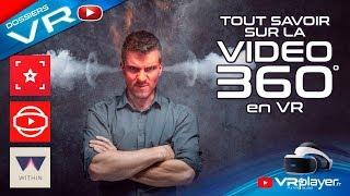 PlayStation VR PSVR : Regarder des vidéos 360° VR 3D ou 2D - Le Dossier VR4Player