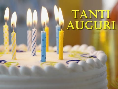 Happy Birthday Italien Version