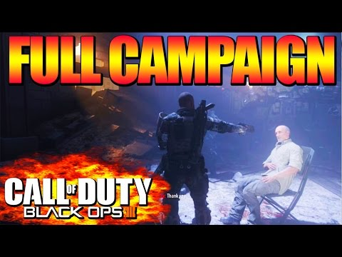 Black Ops 3: Full Campaign On One Video!! (BO3 Campaign Walkthrough)