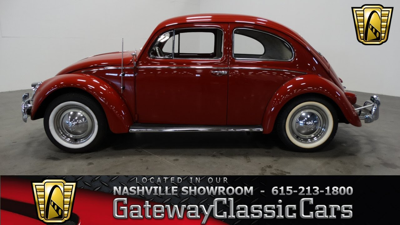 volkswagen beetle gateway classic cars  nashville  youtube