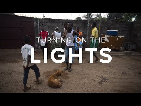Non-profit provides green energy solutions in Liberia