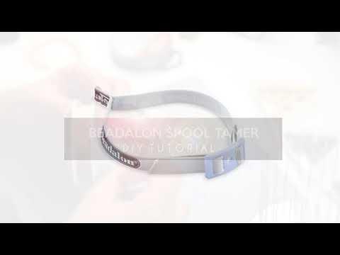 Bijoux à faire soi-même : Beadalon spool tamer (distributeur de fil) ♡ DIY
