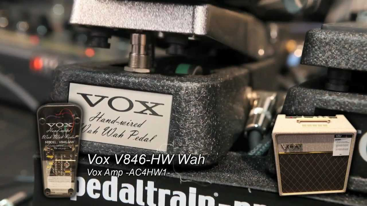 Only at sweetwater!. ✅ 0% financing, ✅ free shipping, and ✅ free tech support for your vox v846-hw hand wired wah pedal!
