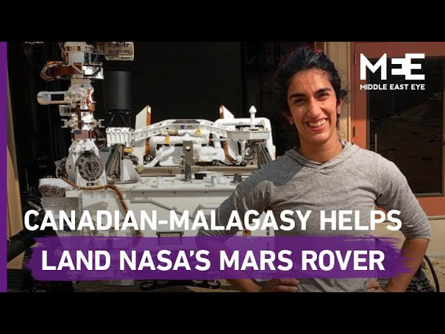 Canadian-Malagasy engineer helps NASA's Perseverance rover land on Mars