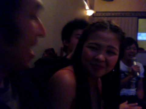 Karaoke in a filipina bar