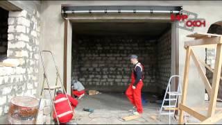 Монтаж гаражной  роллеты ALUTECH профиль AG77 c улитками на радиоуправлении(Компания «Мир Окон» - это собственное высокотехнологичное производство пластиковых окон из ПВХ. Компания..., 2013-12-06T11:09:01.000Z)