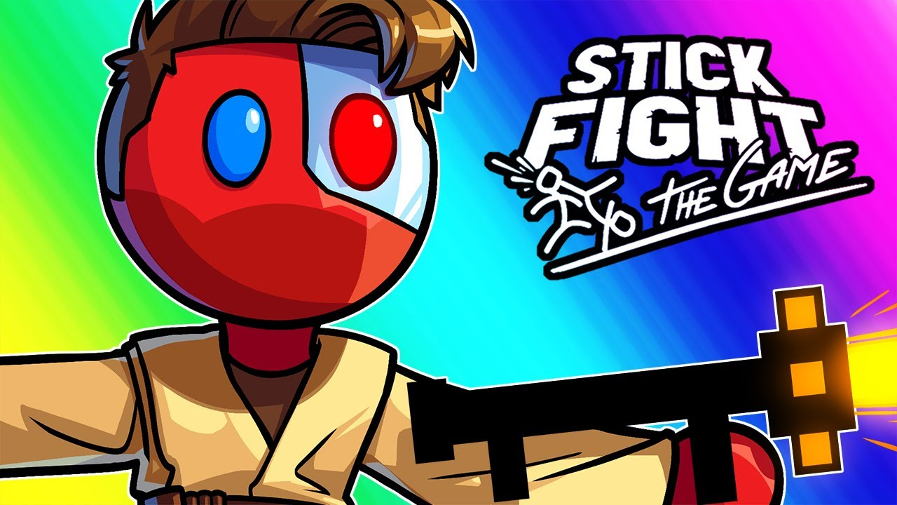 Stick Fight Funny Moments - It's Over, Nogla!  I Have the High Ground!
