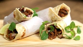 Mutton Kathi Roll | Mutton Wrapped In Roti | The Bombay Chef – Varun Inamdar