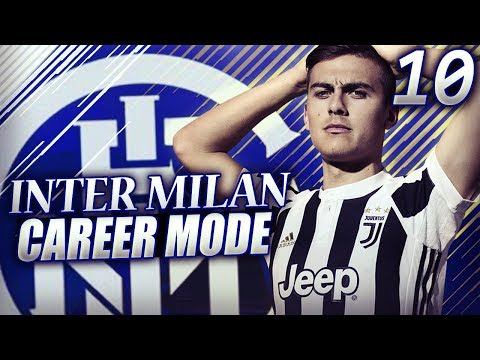HOT TITLE RACE! JUVENTUS vs INTER MILAN FOR 1ST PLACE!! - FIFA 18 Inter Milan Career Mode #10