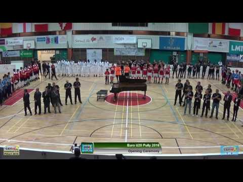 Opening Ceremony Euro U20 Pully 2016