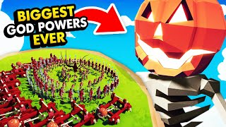 NEW GOD POWERS vs IMPOSSIBLE REAPER BATTLES (TABS / Totally Accurate Battle Simulator Gameplay)