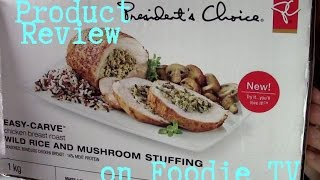 Foodie Tv: Pc Easy-carve Wild Rice And Mushroom Stuffing Chicken Breast Roast Product Review
