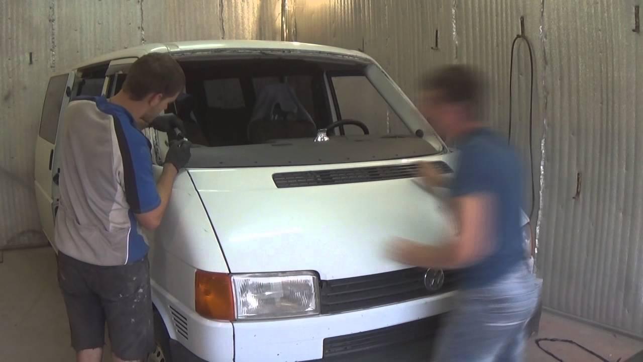Замена лобового стекла транспортер т4 пежо транспортер 2020