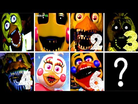 PLAYING FNAF AS ALL CHICA!! Chica Simulator REMASTERED