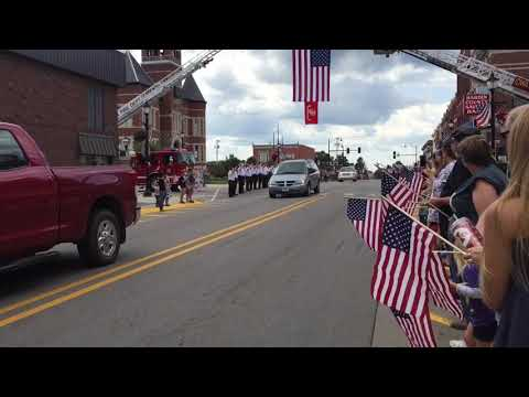 Processional for Lance Cpl Cody Haley