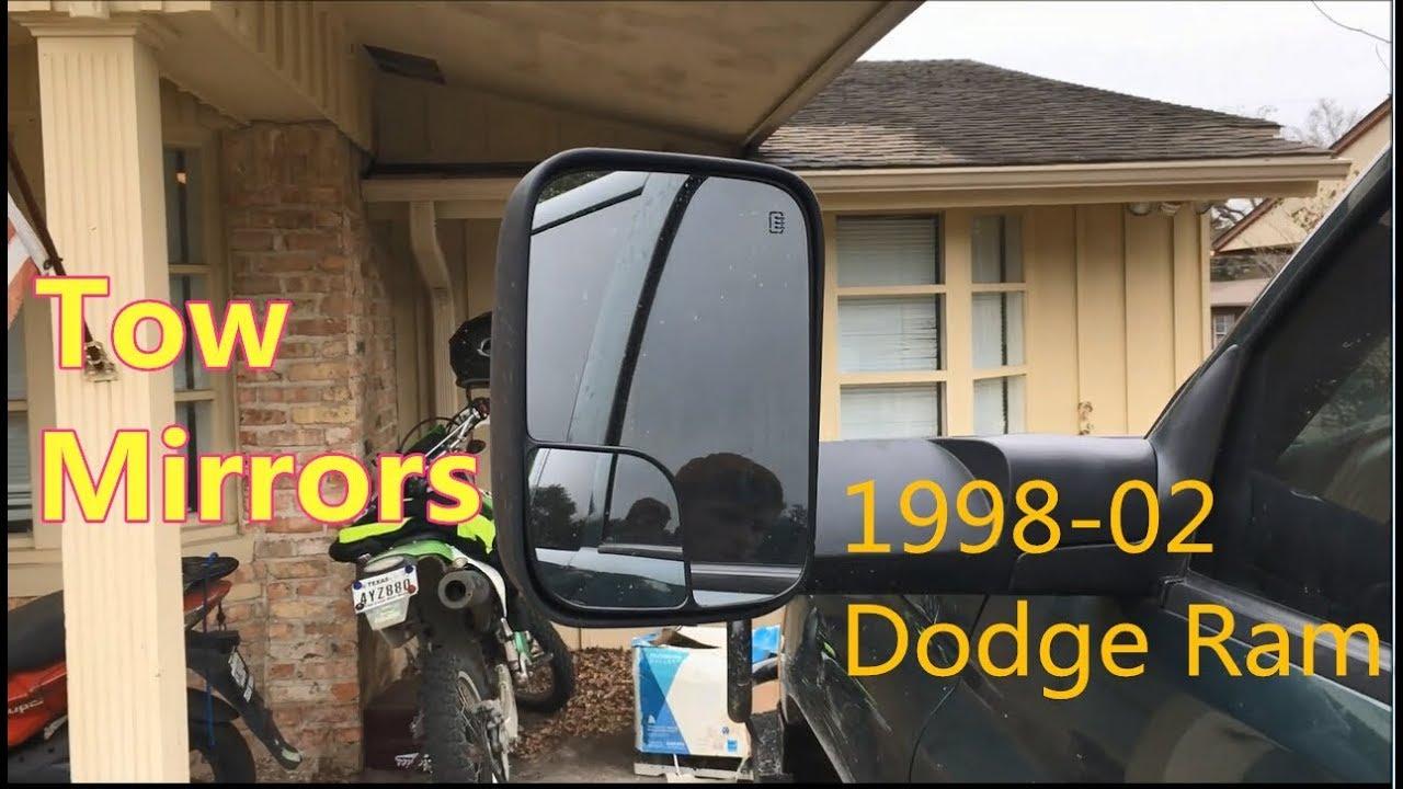 Trail Ridge Towing Mirror Manual Upgrade Signal Pair Set for Ram Pickup Truck