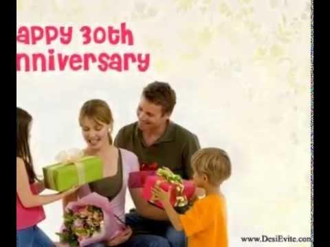 Th wedding anniversary ecard youtube