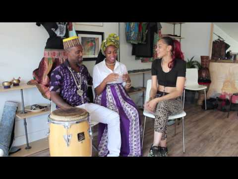 Gracie Phoenix with Afro-Deeziak TV Interviews Ogunlano Music